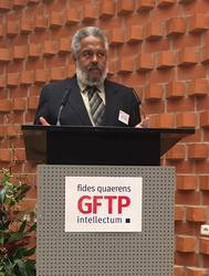 Rev. Darryl M. Trimiew beim Symposium zu Martin Luther King, Jr., Foto: GFTP