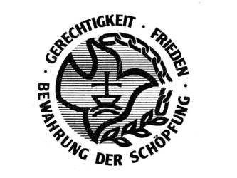 Logo Ökumenische Versammlung in der DDR