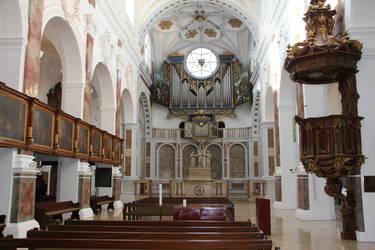 Innenraum St. Anna