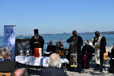 Liturgen beim Ökumenischen Morgenlob in Bregenz