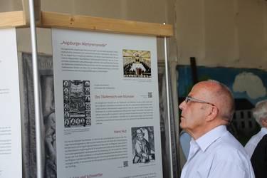 Eine Dauerausstellung in Reinhardsbrunn informiert über die Täufermärtyrer des Jahres 1530, Foto: Wolfgang Krauß