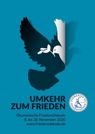 Plakatmotiv zur Ökumenischen FriedensDekade 2020