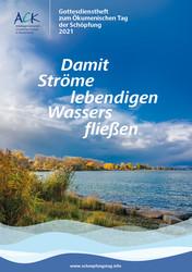 Cover des Gottesdienstheftes zum Ökumenischen Tag der Schöpfung