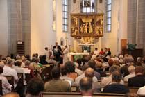 Schriftlesung durch Pastor Heinrich Lüchtenborg