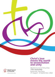 Das Logo der Vollversammlung des ÖRK 2022