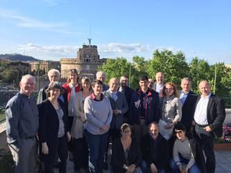 Bild der Teilnehmerinnen und Teilnehmer des Treffens in Rom