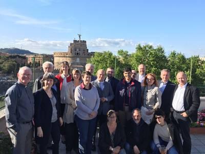 Treffen der nationalen Kirchenräte 2019 in Rom