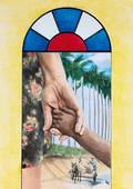 Titelbild zum Weltgebetstag 2016, Nehmt Kinder auf und ihr nehmt mich auf, Ruth Mariet Trueba Castro/Kuba. (Foto: Weltgebetstag der Frauen – Deutsches Komitee e.V.)