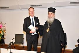 Bild von Präses Hörsting und Erzpriester Miron