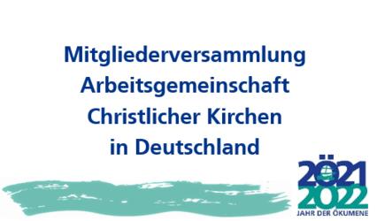 Die Mitgliederversammlung der ACK in Deutschland tagte am 24. März digital.
