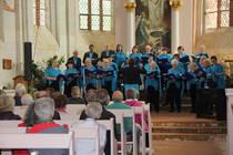 Der Kirchenchor aus Velgast bei seinem Konzert in der Kirche in Starkow, Foto: ACK