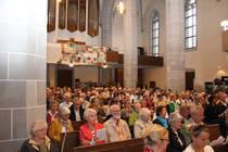 Blick auf die Gottesdienstgemeinde