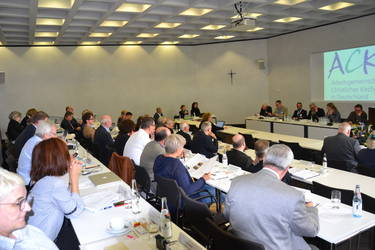 Die 245. Mitgliederversammlung der ACK Deutschland tagt in Augsburg