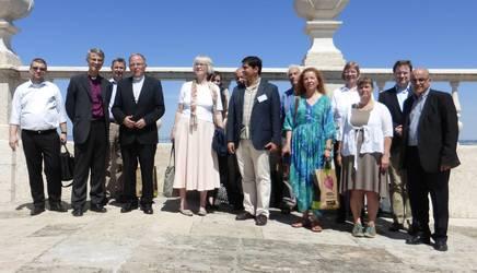 Gruppenbild der Generalsekretäre der nationalen Kirchenräte