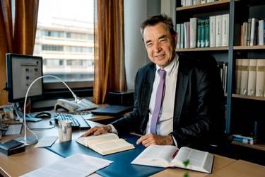 Professor Thomas Söding (Bochum), Vorsitzender des Deutschen Ökumenischen Studienausschusses (DÖSTA), Foto: RUB