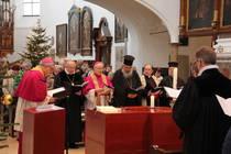 Liturgen im Gottesdienst