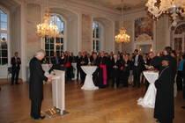 Die EKD lud im Anschluss an den Kreuzerhöhungs-Gottesdienst in den Rokoko-Saal des Kurfürstlichen Palais in Trier ein, Foto: ACK