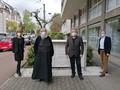 Gruppenbild vor der Frankfurter Ökumenischen Centrale