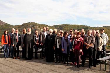 Die Delegierten der ACK-Südwest bei ihrer Herbstversammlung 2019 auf der Ebernburg