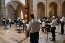 Beschwingende Musik im Gottesdienst.