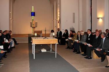 Gottesdienst zum Jubiläum 40 Jahre ACK Südwest, Foto: Renate Thesing