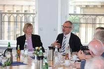 Volker Beck MdB spricht über aktuelle Fragen des Staat-Kirche-Verhältnisses (Foto: ACK)