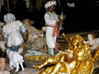Krippenfiguren im Petersdom, Foto: ACK