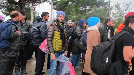 Flüchtlinge bei ihrer Ankunft in Griechenland (Foto: WCC/Marianne Ejdersten)