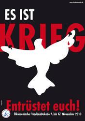 Plakat Friedensdekade
