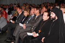 Zur Gottesdienstgemeinde gehörte auch Bundestagsvizepräsident Wolfgang Thierse. (Foto: ACK)