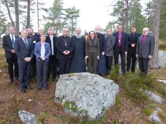 Die Teilnehmenden der Begegnung der ACK in Deutschland mit dem Nationalen Kirchenrat in Finnland, Foto: ACK
