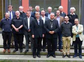 Die Generalsekretärinnen und Generalsekretäre der nationalen Kirchenräte Europas mit dem Vorsitzenden der ACK, Bischof Karl-Heinz Wiesemann (Foto: ACK)