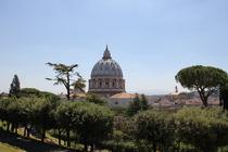 Blick auf Petersdom