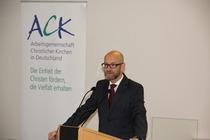 Der CDU-Politiker Peter Tauber fordert von den Kirchen eine politische Einmischung jenseits der Parteipolitik, Foto: ACK