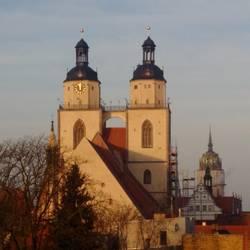 Die Stadtkirche in Wittenberg. (Foto: E. Dieckmann)