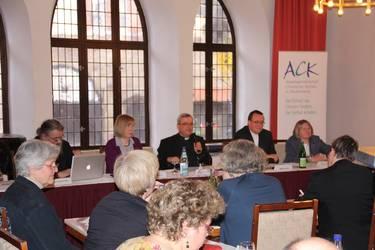 Blick in die Mitgliederversammlung, Foto: ACK