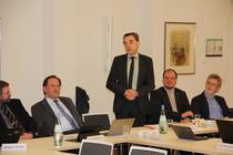 Prof. Thomas Söding, neuer Vorsitzender des DÖSTA, berichtet aus dem DÖSTA.