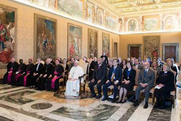 Begegnung zwischen dem Weltrat der Methodisten und Papst Franziskus, Foto: Vatikan