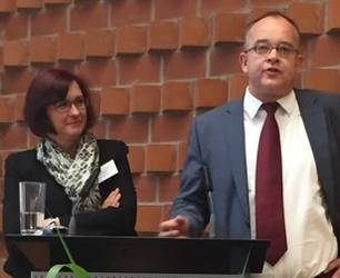 Andrea Strübind (Oldenburg) und Martin Rothkegel (Elstal), Foto: GfTP