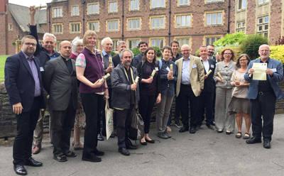 Gruppenfoto der Generalsekretäre