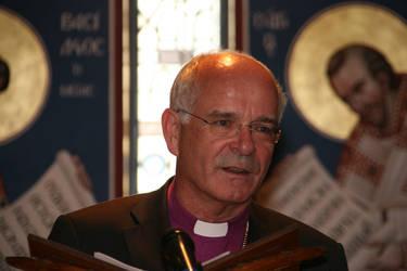 Der Vorsitzende der ACK, Landesbischof Prof. Dr. Friedrich Weber