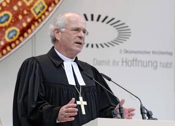 Landesbischof Friedrich Weber, Vorsitzender der ACK (Foto: epd-Bild)