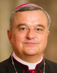 Bischof Karl-Heinz Wiesemann (Speyer), Vorsitzender der ACK in Deutschland, sprach beim Flüchtlingskongress in Schwäbisch Gmünd, Foto: Bistum Speyer