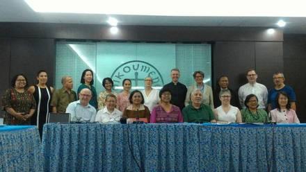 Bild der nationalen und internationalen Arbeitsgruppe zur Erarbeitung der Materialien für die Gebetswoche für die Einheit der Christen 2019 Jakarta/Indonesien, Foto: ÖRK
