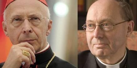 Aneglo Kardinal Bagnasco (li) und Christopher Hill, Bild: KEK