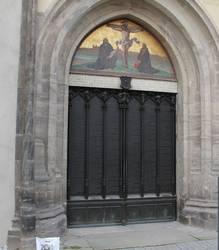 Thesentür Schlosskirche Wittenberg