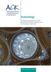 Titelseite der Dokumentation Ecclesiology.
