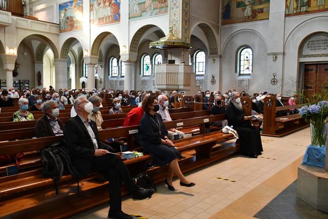 Mitfeierende beim Ökumenischen Gottesdienst in Romanshorn