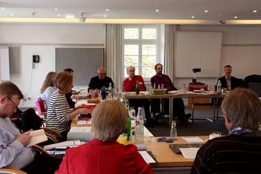Blick in die Delegiertenversammlung der ACK Südwest