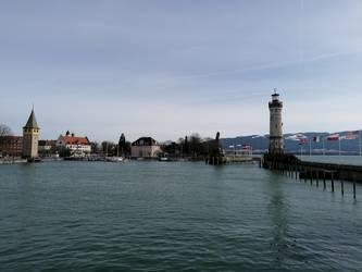 Der Hafen in Lindau